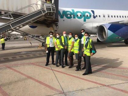 Evelop comienza en agosto una programación de vuelos regulares con Canarias
