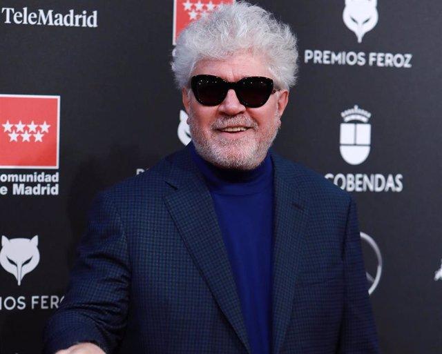 Pedro Almodóvar, en la alfombra roja de los Premios Feroz