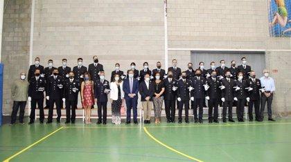 La Policía Local albaceteña suma 18 nuevos agentes y siete oficiales y cubrirá en próximos meses otras 11 plazas