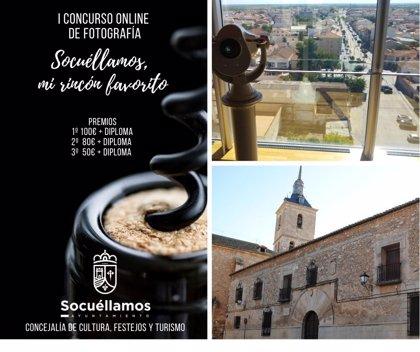 El Ayuntamiento convoca el concurso 'Socuéllamos: mi rincón favorito' con premios de 100, 80 y 50 euros