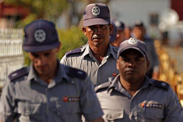 Policía cubana (Imagen de archivo)