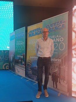 José Antonio Víquez, alcalde de Yunquera y vicesecretario de Política Municipal del PP de Málaga