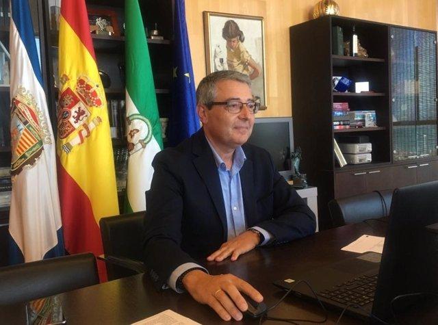 El presidente de la Diputación de Málaga, Francisco Salado.