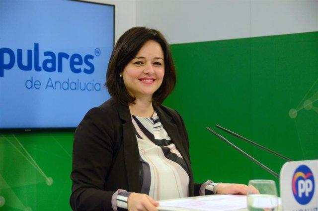 Virginia Pérez, presidenta del PP de Sevilla, en una imagen de archivo