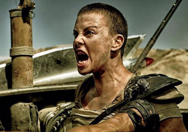 Charlize Theron en Mad Max: Fury Road