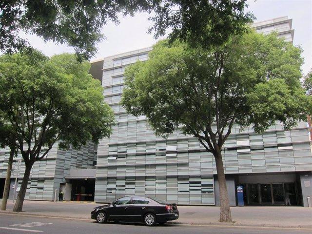 Comisaría de Les Corts de los Mossos d'Esquadra (ARCHIVO)