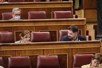 """ERC reprocha a Juan Carlos I que huya de la Justicia """"por corrupto"""" en lugar quedarse a """"dar la cara con dignidad"""""""