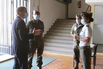 Talarn (Lleida) acoge las pruebas de 350 de los 1.200 aspirantes a suboficiales del Ejército