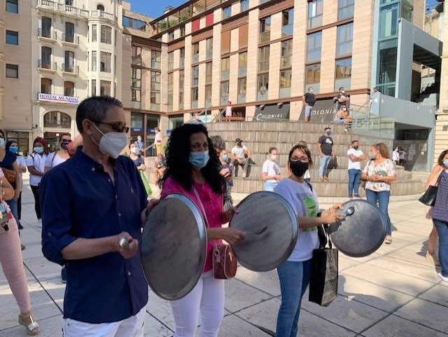 Protesta De La Hostelería De Lleida El Pasado 23 De Julio.