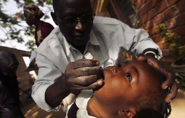 Vacunación contra la poliomielitis en Nigeria