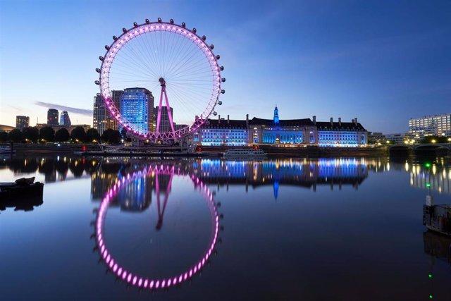 Vista panorámica de Londres.