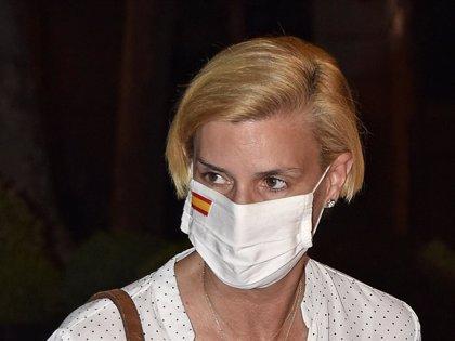 María Zurita muestra su apoyo a Don Juan Carlos después del exilio del Rey