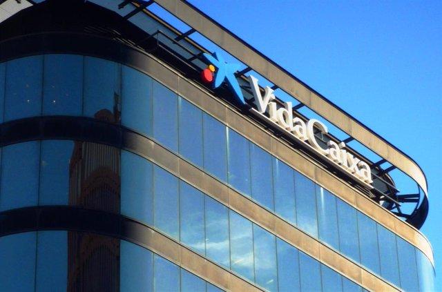 Sede de VidaCaixa. Edificio de oficinas de la compañía aseguradora.