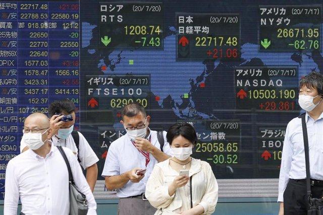 Imagen de Tokio durante la pandemia de coronavirus