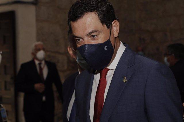 Moreno respeta la decisión del rey emérito y expresa su apoyo a Felipe VI