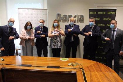 Bankia patrocina el 'Premio Empresario del año' de la Federación Empresarial Segoviana