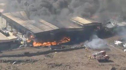 Declaran la situación de emergencia en El Hierro por el incendio del Complejo Ambiental de El Majano