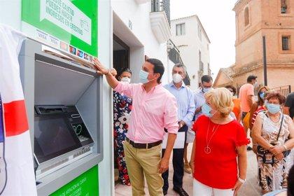 Diputación de Almería comienza a instalar cajeros multiservicios en pueblos en una iniciativa pionera