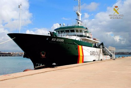 Un patrullero de la Guardia Civil está en aguas de las Pitiusas para incrementar la seguridad y reforzar la vigilancia