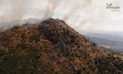 El incendio de El Real de San Vicente (Toledo) se estabiliza