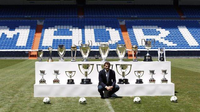 """Fútbol.- El Real Madrid califica a Casillas """"como el mejor portero de la histori"""