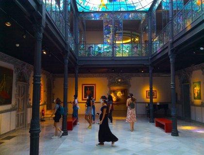 El Museo Art Nouveau de Salamanca recibe 4.271 visitantes en julio, un 70% menos que hace un año