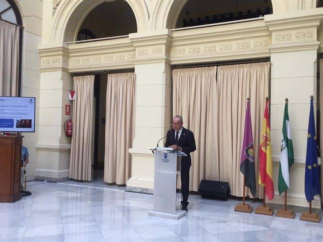 Alcalde de Málaga, Francisco de la Torre en una imagen de archivo