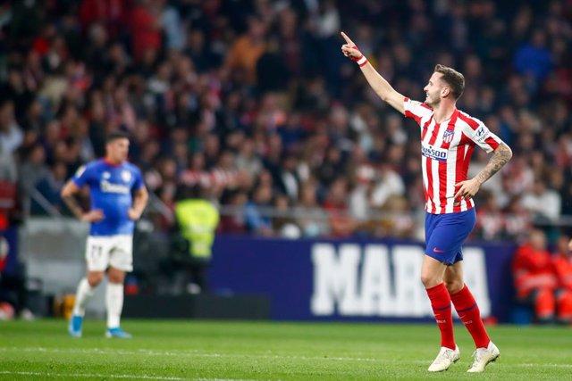 "Fútbol.- Saúl Ñíguez: ""Conseguir el objetivo en Liga entusiasma para poder segui"