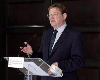 Puig anuncia un decreto ley de medidas urgentes para agilizar la puesta en marcha de plantas de energías renovables