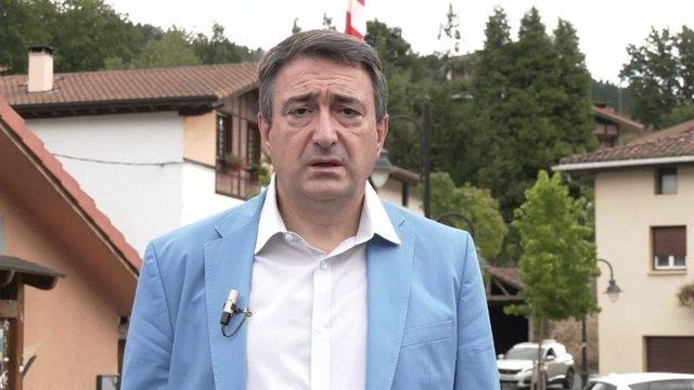 """VÍDEO: PNV cree """"inaceptable"""" lo que rodea al caso de Juan Carlos I y """"lamentabl"""