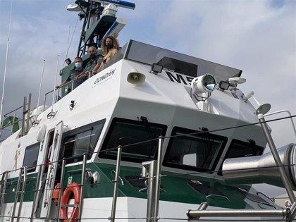 """La Guardia Civil de Cantabria estrena una """"moderna"""" patrullera marítima"""