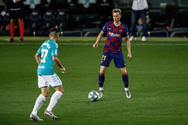 """Fútbol/Champions.- De Jong: """"Hemos tenido más tiempo para preparar el partido, p"""