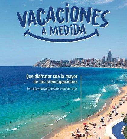 Benidorm promociona su destino con la campaña 'Vacaciones a medida'
