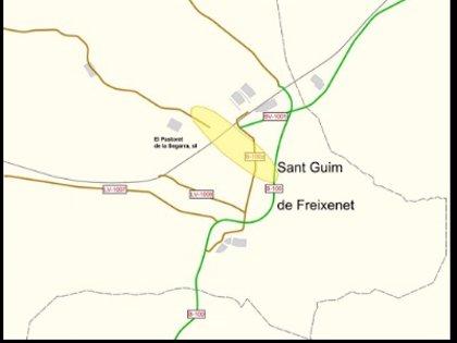 La Generalitat adjudica los estudios de una variante en Sant Guim de Freixenet (Lleida)