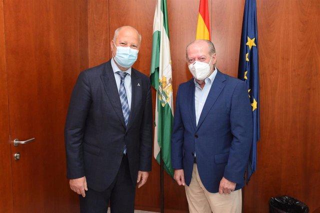 Javier Imbroda y Fernando Rodríguez Villalobos