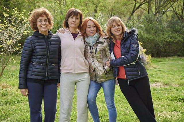 Rodaje de 'Invisibles', dirigida por Gracia Querejeta y protagonizada por Adriana Ozores, Emma Suárez y Nathalie Poza