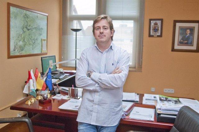 El alcalde de Reocín y presidente de la FMC, Pablo Diestro