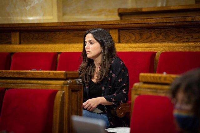 La diputada de CUP Maria Sirvent.