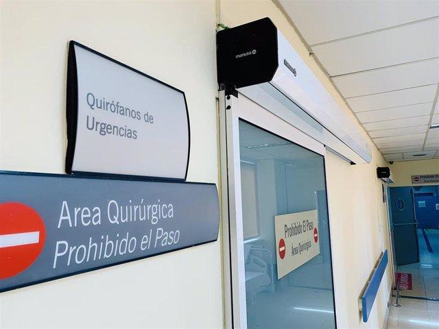 Quirófanos de Urgencias del Hospital Clínico Universitario Virgen de la Victoria de Málaga