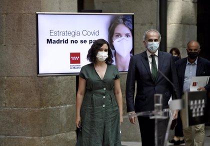 La Justicia avala la limitación de reuniones y el resgistro de clientes de ocio decretados por Madrid ante el Covid
