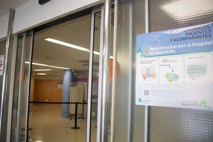 Andalucía suma nueve hospitalizados más por Covid-19 en un día hasta 90, de los que 14 están en UCI