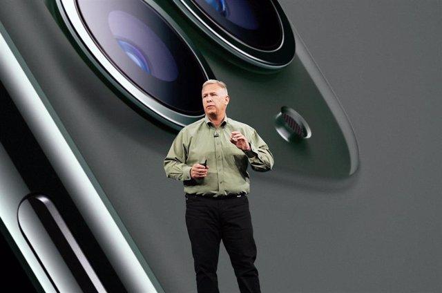 Phil Schiller, en la presentación del iPhone 11 Pro.