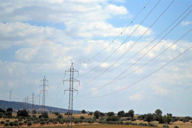 Línea eléctrica de alta tensión