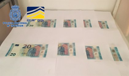 Siete detenidos en Vigo y Madrid por introducir en España más de 30.000 euros en billetes falsos procedentes de Nápoles