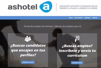 Ashotel reabre su portal de empleo con nuevas mejoras