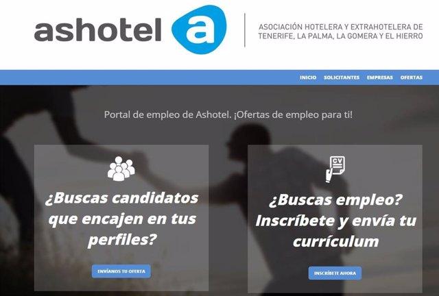 Portal de empleo de Ashotel