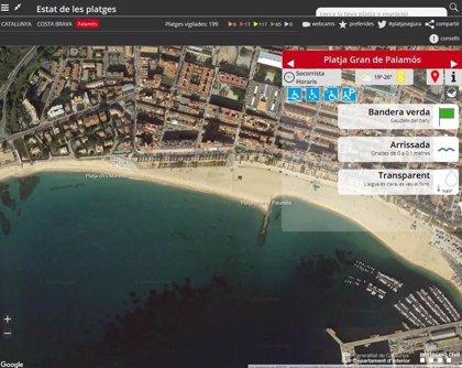 Una mujer de 88 años muere ahogada en una playa de Palamós (Girona)