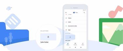 Google Files añade una carpeta segura protegida por PIN de 4 cifras