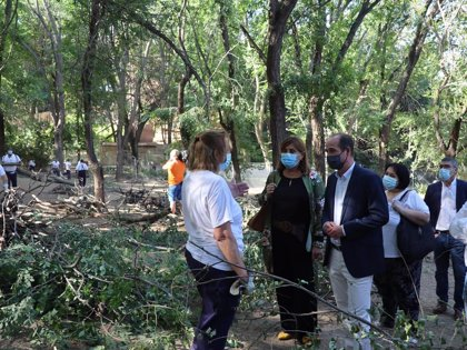 Casi un centenar de guadalajareños participan ya en el Plan de Empleo regional, 14 de ellos en el zoo de Guadalajara