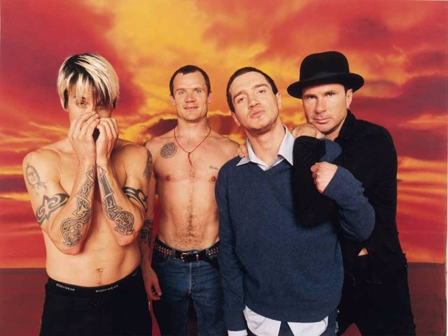RED HOT CHILI PEPPERS EN 1999